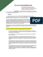 BRASIL Reglamento II de Servicios de Radiodifusión - Decreto Nº2.108 de 1996