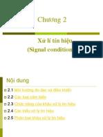 Xử lí tín hiệu (Signal conditioning)