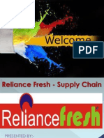 study on reliance fresh