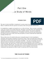 Word Studies