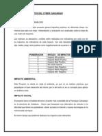 ANÁLISIS DE IMPACTOS DEL CYBER CAHUASQUÍ