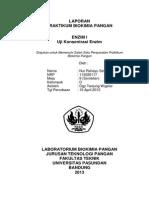 Biokimia Pangan (Karbohidrat I)