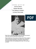 Madame Blavatsky;  The Making of a Satanist