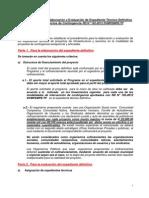 Instructivo   para  la Elaboración y Evaluación de Expediente DU-16-2012