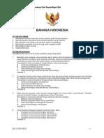 Soal Tes Cpns Bahasa Indonesia