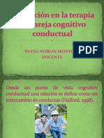 Evaluación en la terapia de pareja cognitivo conductual