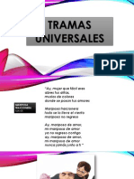 TRAMAS UNIVERSALES EJERCICIO