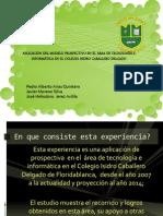 Aplicacion de Prospectiva en El Area de Tecnologia