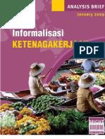Informalisasi Ketenagakerjaan di Indonesia