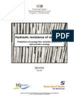 Hydraulic Resistance of Vegetation