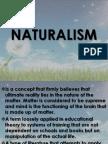 Naturalism (Report)