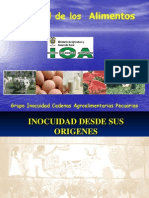 Inoquidad de Los Alimentos Presentacion Jornada Divulgativa 27-10-06