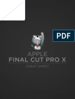 Apple Final Cut Pro X 10.2 Cheat Sheet