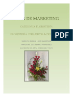 PLAN MARKETING FLORISTERÍA