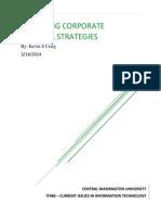 Analyzing Corporate Firewall Strategies