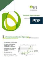 MÉXICO Estado de TDT - IFT