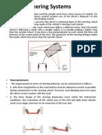 Steering System(1)