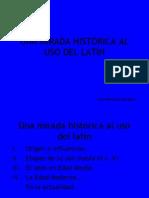 Historia del latín