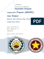 Batasan Hills National High School Intensified Dropout Reduction Program (BIDORP)