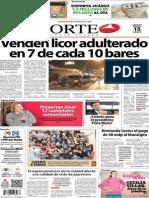 Periódico Norte de Ciudad Juárez edición impresa del 15 marzo del 2014