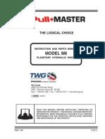 Model m6 Service Manual