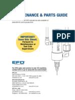 Nordson EFD 741V Maintenance Guide