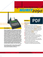 POS (Point of Sale)Nurit 2090 Retail Transaction Machine