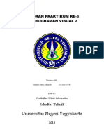 Laporan Praktikum Visual Basic