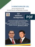 Cartea Minciunilor USL
