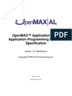 OpenMAX AL 1 0 1 Specification