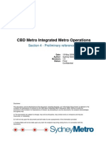 Sydney Metro-Preliminary Reference Concept of Operations