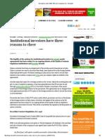 Exit Options Under SEBI, RBI and Companies Act - Moneylife