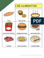 Bingo de Alimentos