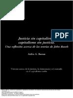 Justicia Sin Capitalismo Capitalismo Sin Justicia Una Reflexi n Acerca de Las Teor as de John Rawls 1 to 25