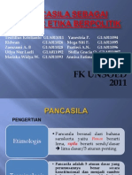 Pancasila Sebagai Sumber Etika Berpolitik