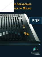 Soundcraft Guide to Mixing 1110