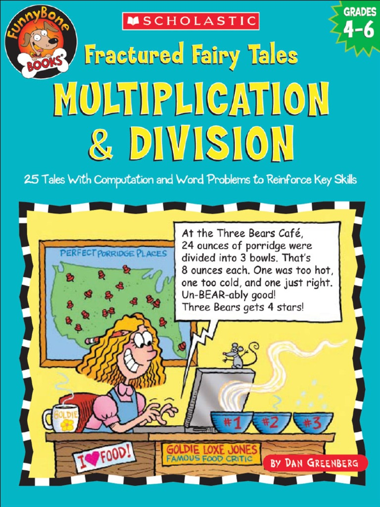 Fractured Fairy Tales Multiplication & Division by Dan Greenberg ...