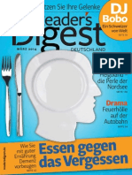 Readers Digest - Marz 2014