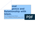 Emotional Intelligence Relation With Islam