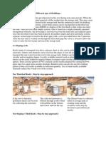 Rainwater Harvesting in Different Type of Buildings