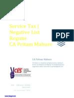 Service Tax E Book by CA Pritam Mahure