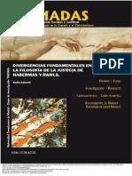 Divergencias Fundamentales en La Filosof a de La Justicia de Habermas y Rawls N Madas Revista Cr Tica de Ciencias Sociales y Jur Dicas 15-1-217 238 2007 1 to 9