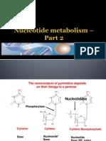 5-2 Necleotide Metabolism (Pyrimidine)