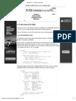 Records in PL_SQL