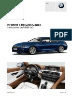Bmw 640i Grand Coupe 124k