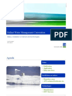 BWM-2011-16 Statusinstallation on Tankers and Technologies