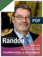 """Programme 2014-2020 de la liste """"Petit-Couronne, un avenir en commun"""""""