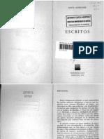 """""""Escritos"""", Louis Althusser"""