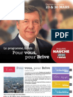 Philippe NAUCHE 2014 - Programme