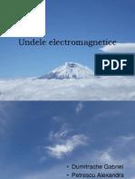 Grupa 7 Undele electromagnetice